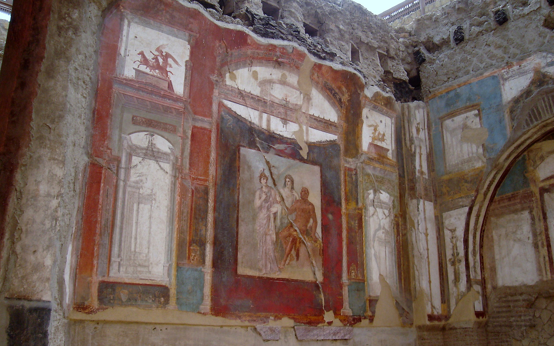Resultado de imagen de affreschi herculaneum
